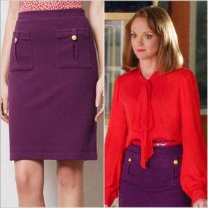 Vanessa Virginia | Bonny Textured Knit Skirt